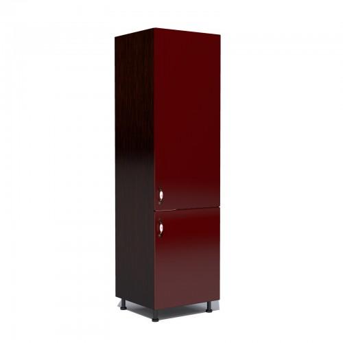 Corp pentru frigider incorporabil Zebra MDF rosu simplu