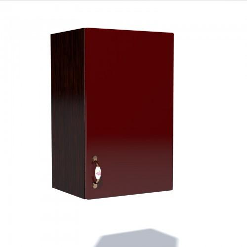 Corp superior 50 cu 1 usa Zebra MDF rosu simplu imagine spectral.ro