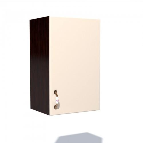 Corp superior 50 cu 1 usa Zebra MDF vanilie simplu imagine spectral.ro