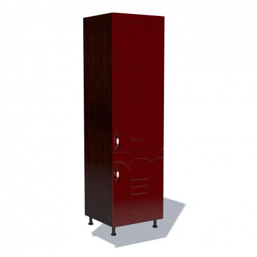 Corp pentru frigider incorporabil Zebra MDF tulip rosu