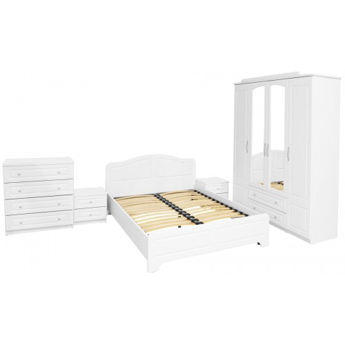 Dormitor Sara cu pat 160x200 cm