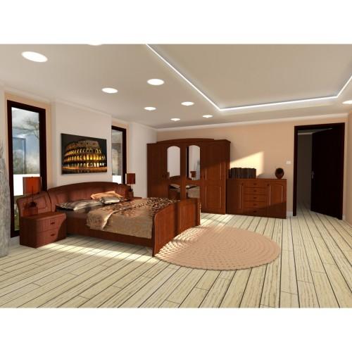 Dormitor Roma cu pat 160x200 cm