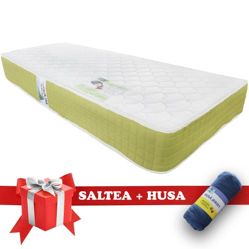 Set Saltea Pocket Spring Saltex Husa Elastic