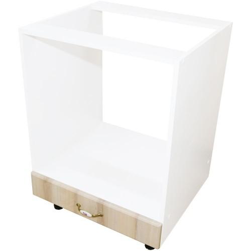 Corp inferior 60 pentru cuptor incorporabil cu 1 sertar Zebra MDF sonoma mustata imagine spectral.ro