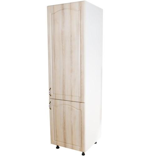 Corp pentru frigider incorporabil Zebra MDF sonoma mustata - usi dreapta imagine spectral.ro