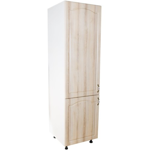 Corp pentru frigider incorporabil Zebra MDF sonoma mustata - usi stanga poza spectral.ro