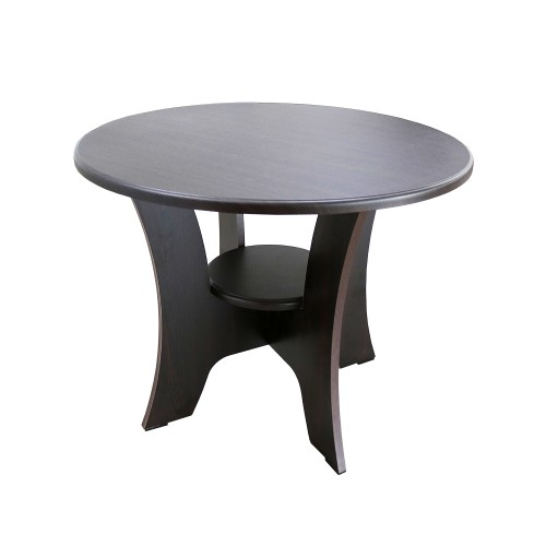 Masuta Cafea Rotunda Wenge Imagine