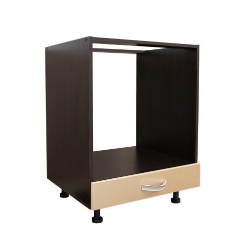 Corp inferior 60 pentru cuptor incorporabil cu 1 sertar Zebra cappuccino imagine spectral.ro