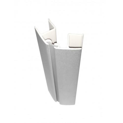 Terminatie plinta argintie H150 imagine spectral.ro