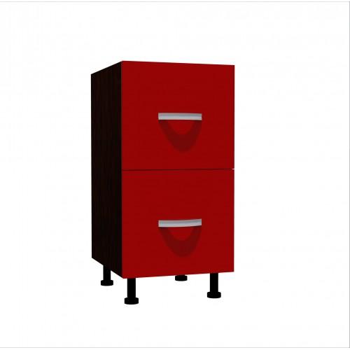 Corp Inferior Sertare Metalice Rosu - 12743