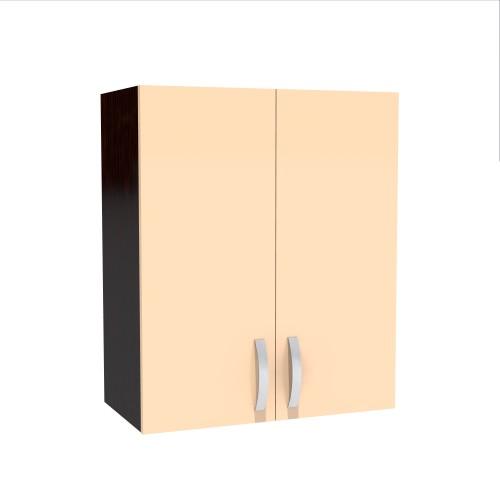 Corp superior 60 cu 2 usi cu scurgator de vase Zebra cappuccino imagine spectral.ro