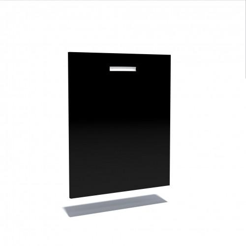 Front Masina Spalat Vase Negru Mobilier Ilustratie