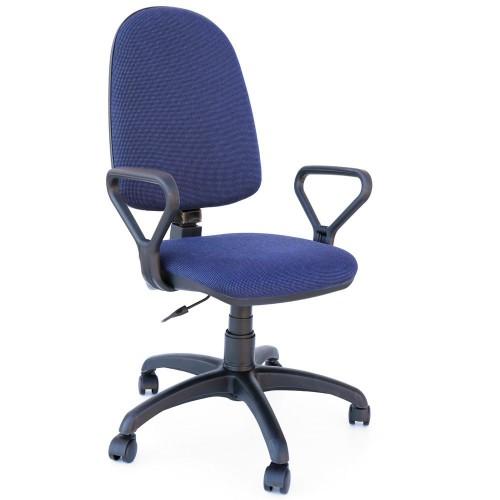 Scaun Confort Negru Albastru Imagine