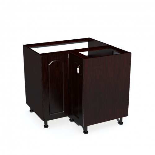 Corp Inferior Colt Usi Mdf Mustata Wenge Mobilier Ilustratie